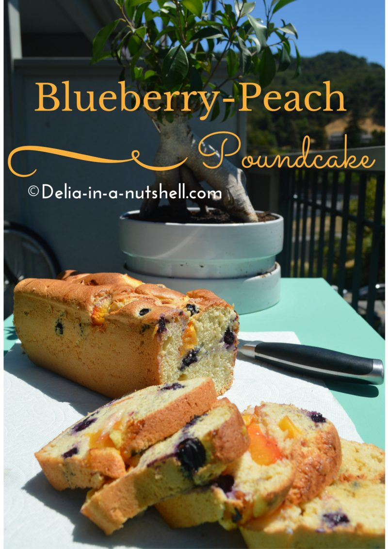 blueberry-and-peach-pound-cake-1 |desert | summer desert | easy desert | desert with fruits