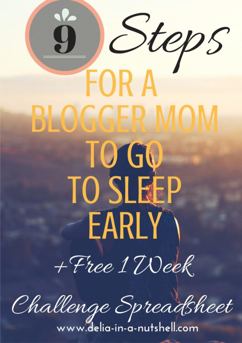 Do you ever feel like you are loosing precious hours of rest because you're trying to juggle motherhood and blogging? Check out this article and you are guaranteed to sleep more! 9 steps for a blogger mom to go to sleep early |blogging| mommy blog|