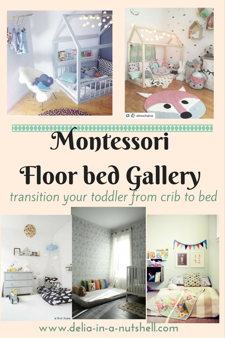 Delia In A Nutshell Montessori Floor Beds For Your Toddler Delia In A Nutshell